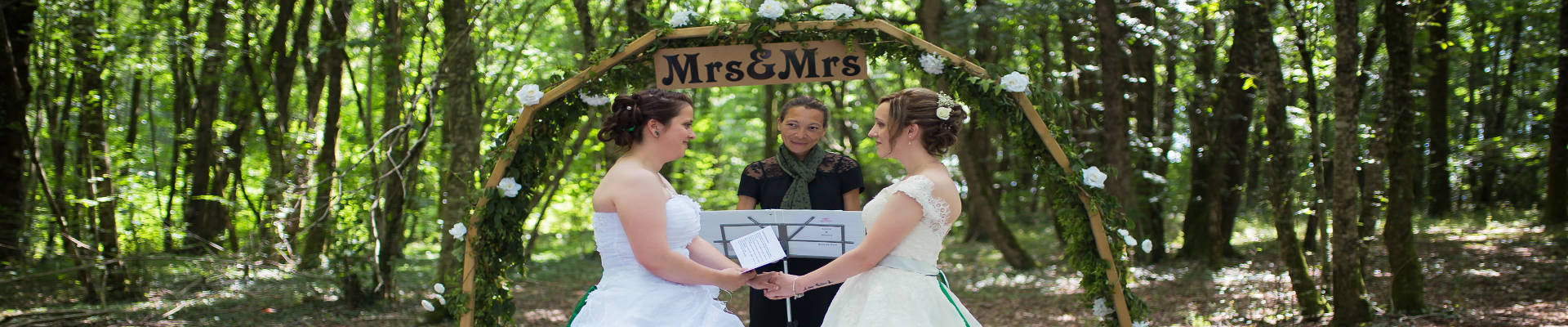 wedding ceremony - gay marriage ceremony in france