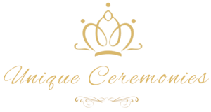 unique ceremonies logo or